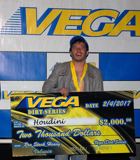 Vega Dirts Series Winner